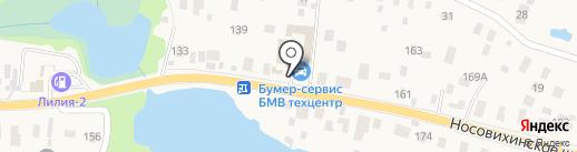 ФОРДПОСТ на карте Балашихи