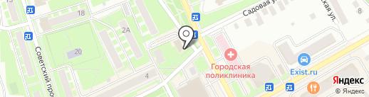 ДИНА на карте Ивантеевки