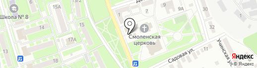 Церковная лавка на карте Ивантеевки