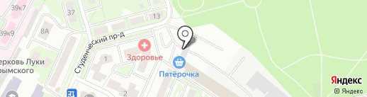 Автосервис на карте Ивантеевки