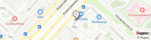 King of Doors на карте Люберец