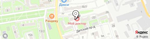 Мой Доктор на карте Ивантеевки