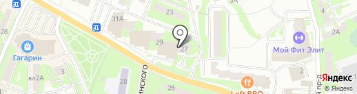 Московский областной архивный центр на карте Ивантеевки