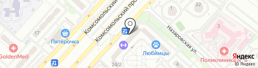 БизнесСайты.рф на карте Люберец
