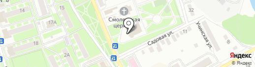 Музыкально-драматический театр на карте Ивантеевки