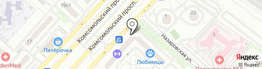 КРХ-МЕДИКАЛ на карте Люберец