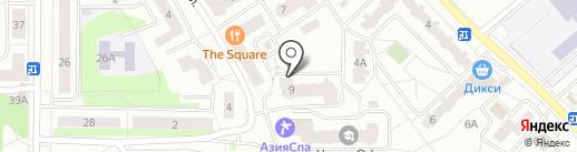 РЕСО-Гарантия, СПАО на карте Ивантеевки