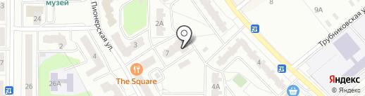 КАС+ на карте Ивантеевки