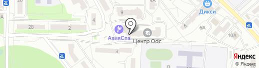 Магазин женской одежды из вязаного трикотажа на карте Ивантеевки