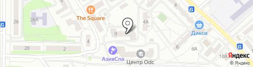 Сибирское Здоровье на карте Ивантеевки