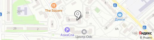 Пионерская-9, ТСЖ на карте Ивантеевки