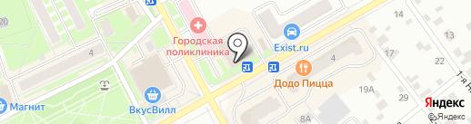 Лазурный берег на карте Ивантеевки