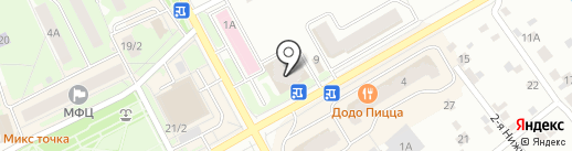 Рублевские колбасы на карте Ивантеевки