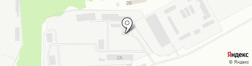 Омега, торгово-производственная база на карте Макеевки