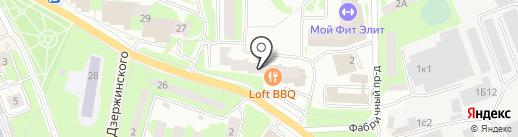 Ив-Тур на карте Ивантеевки