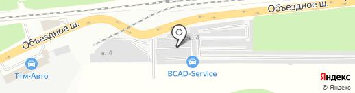 Ford-De-Luxe на карте Балашихи