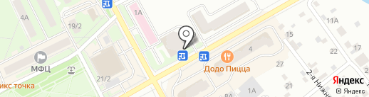 Мясной Домик на карте Ивантеевки