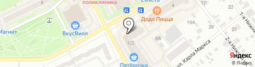 Злата на карте Ивантеевки