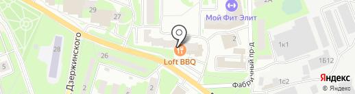 АКБ Легион на карте Ивантеевки