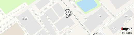 Ревада на карте Томилино