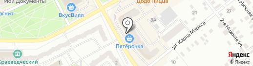 РЕСО-Мед на карте Ивантеевки