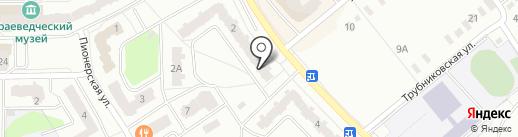 Банкомат, Почта Банк, ПАО на карте Ивантеевки