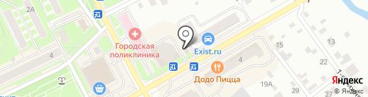 Виват на карте Ивантеевки