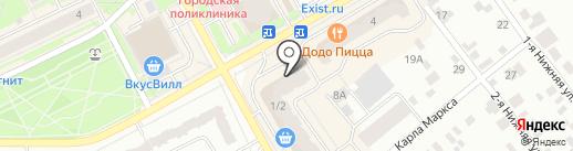 Магазин оптики на карте Ивантеевки