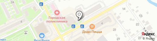 Мастерская по ремонту обуви на карте Ивантеевки