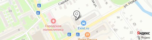 Стройдом на карте Ивантеевки