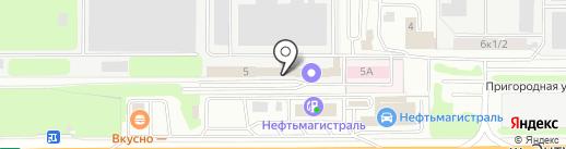 Кооп-Контакт, ПК на карте Балашихи