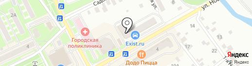 Семейная парикмахерская на карте Ивантеевки
