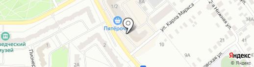 Три печатки на карте Ивантеевки