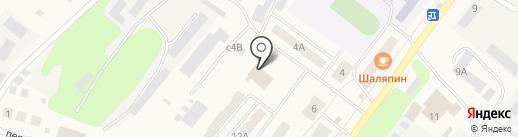 Пожарно-спасательная часть №50 на карте Киреевска