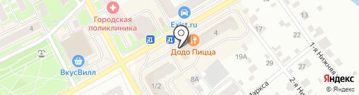 Книжный Лабиринт на карте Ивантеевки