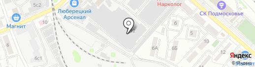 РУСОПТ на карте Люберец