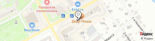 ФЛЕКСУС на карте Ивантеевки