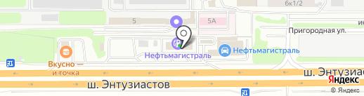 МагБургер на карте Балашихи