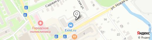 МосОблЕИРЦ на карте Ивантеевки