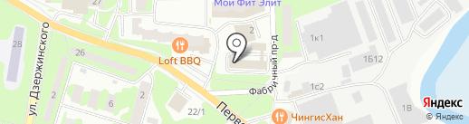 Центр дентальной имплантологии на карте Ивантеевки