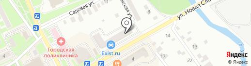 Аюра на карте Ивантеевки