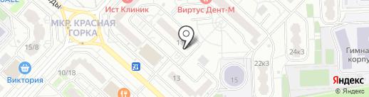 Магазин нижнего белья и детской обуви на карте Люберец