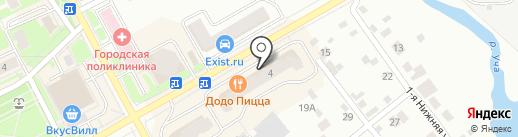Радуга на карте Ивантеевки