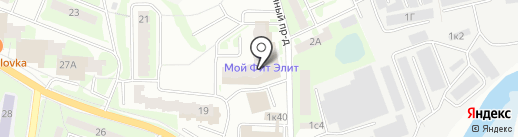 Адвокатский кабинет Иванова Д.И. на карте Ивантеевки