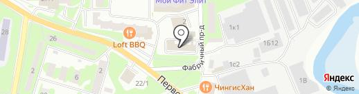 Металл-ТехСтандарт на карте Ивантеевки