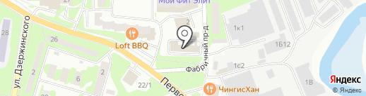 TDS Language School на карте Ивантеевки