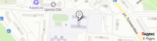 Гимназия №6 на карте Ивантеевки