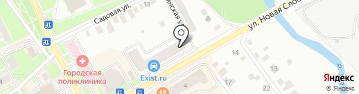 Магазин профессиональной косметики для волос на карте Ивантеевки