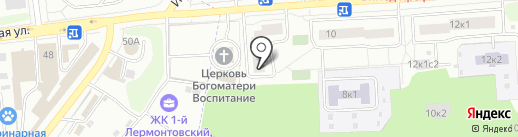 Адвокатский кабинет Ловцова М.В. на карте Некрасовки
