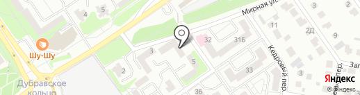 Адвокатские кабинеты Федянина Д.В. на карте Старого Оскола